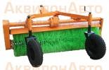 Навесное щеточное оборудование для трактора МТЗ